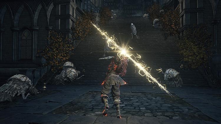 Lightning Spear miracle in Dark Souls 3