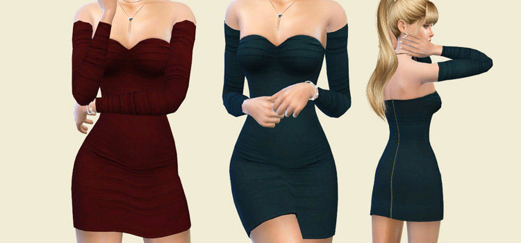 Best Sims 4 Cocktail Dress CC (All Free To Download)