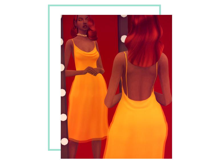 Joanne Dress Sims 4 CC
