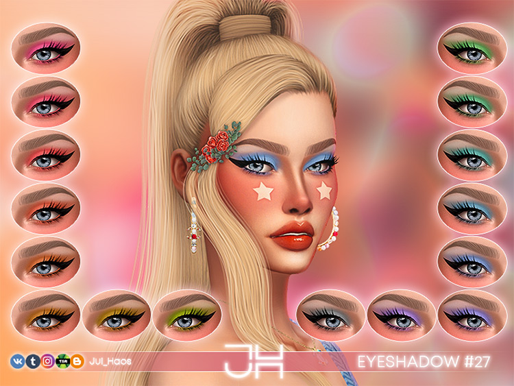 Eyeshadow #27 for Sims 4