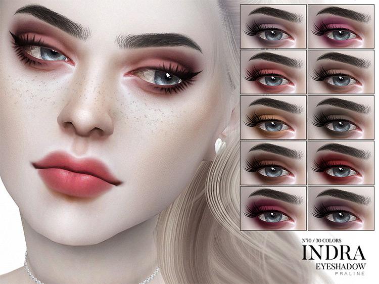 Indra Eyeshadow Sims 4 CC