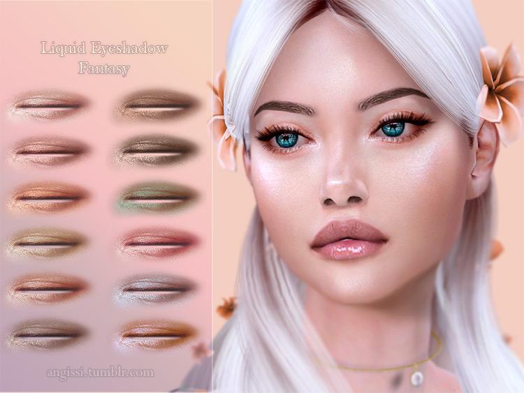Liquid Eyeshadow Fantasy TS4 CC