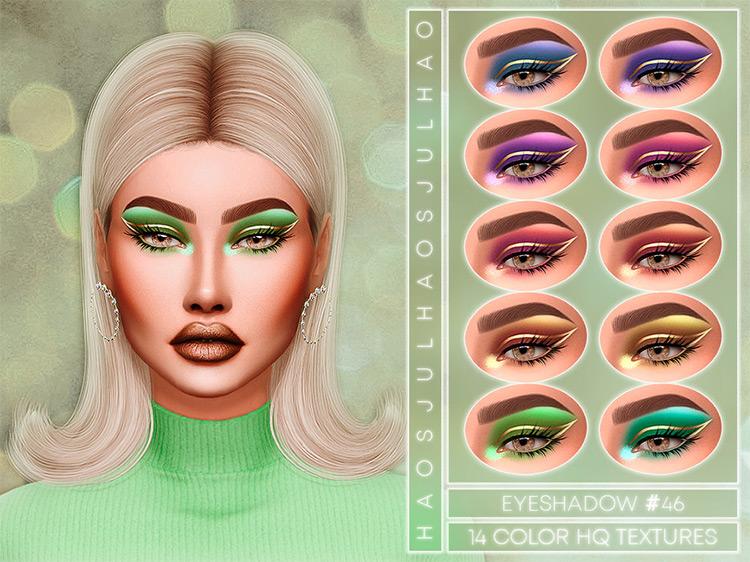 Eyeshadow #46 Sims 4 CC