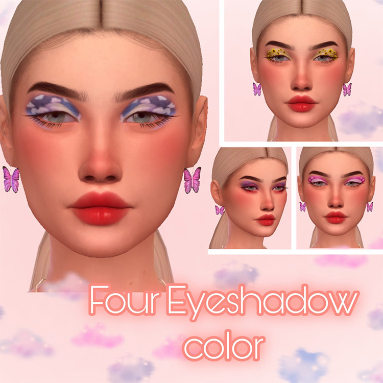 Eye Shadow Aesthetic for Sims 4