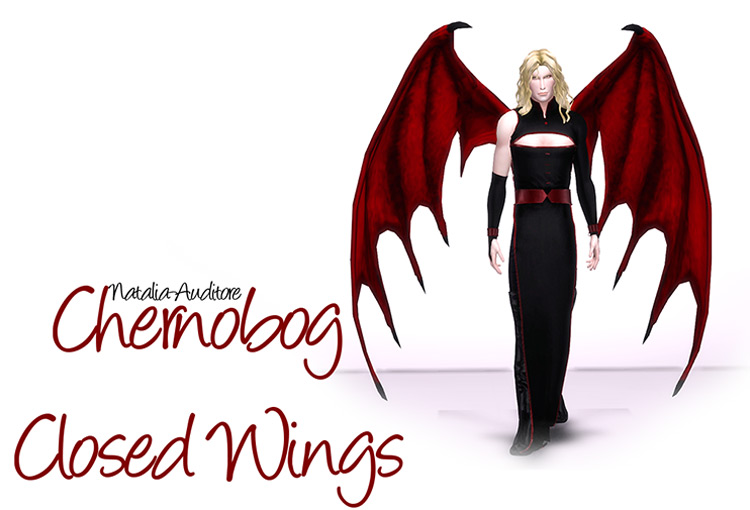 Chernobog Wings Sims 4 CC
