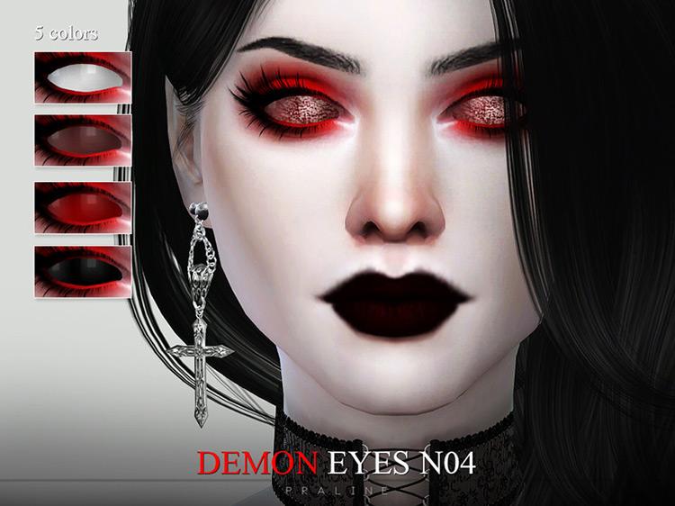 Demon Eyes N04 for Sims 4