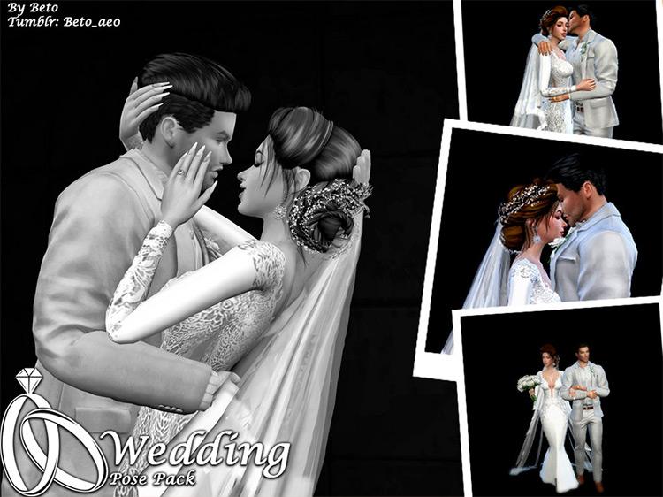 Wedding Pose Pack Sims 4 CC