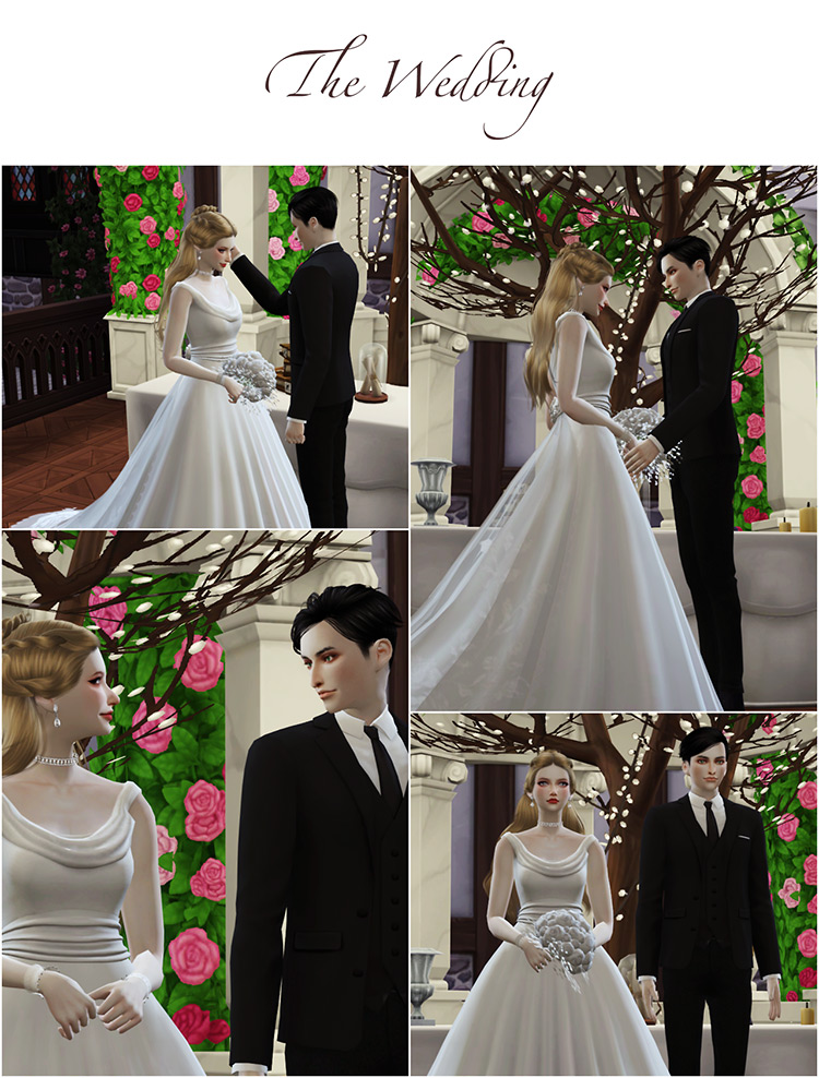Wedding Project Poses Sets Sims 4 CC