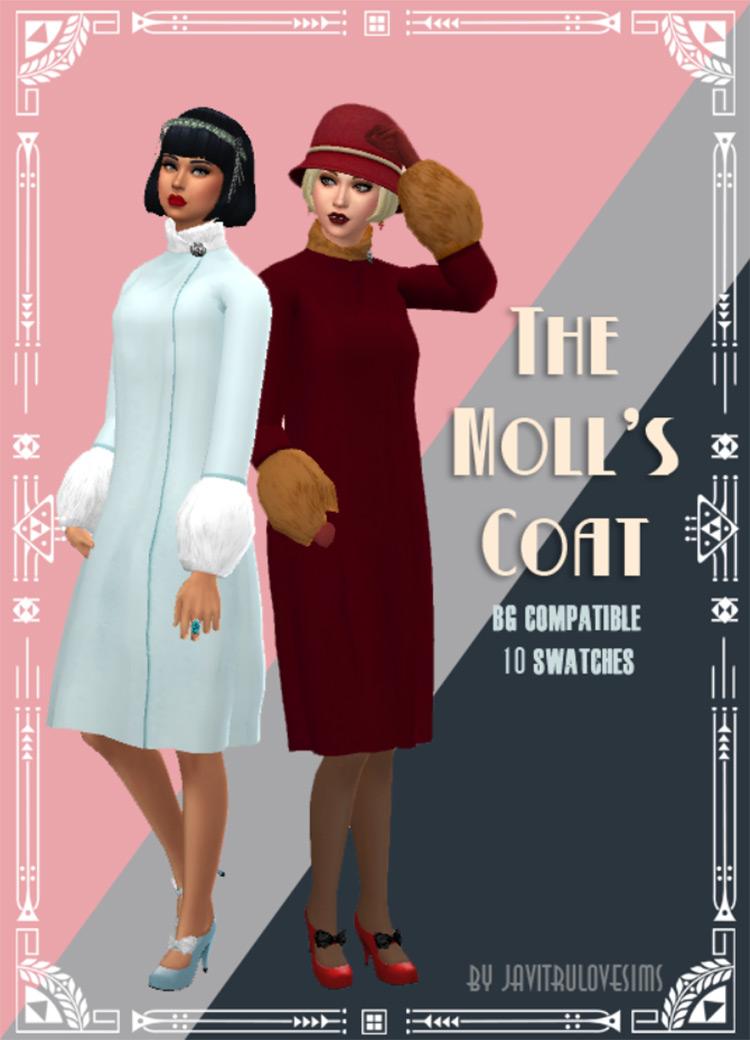 The Moll's Coat Sims 4 CC