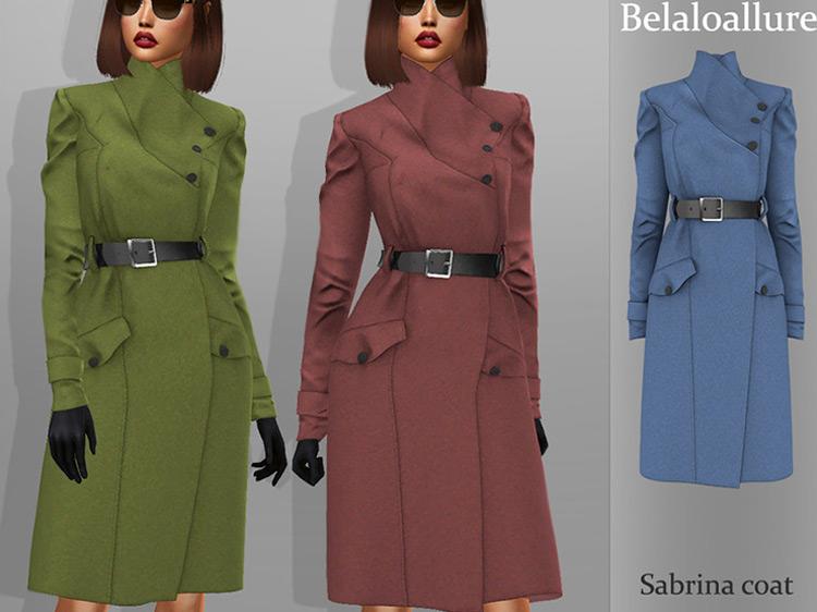 Sabrina Coat for Sims 4