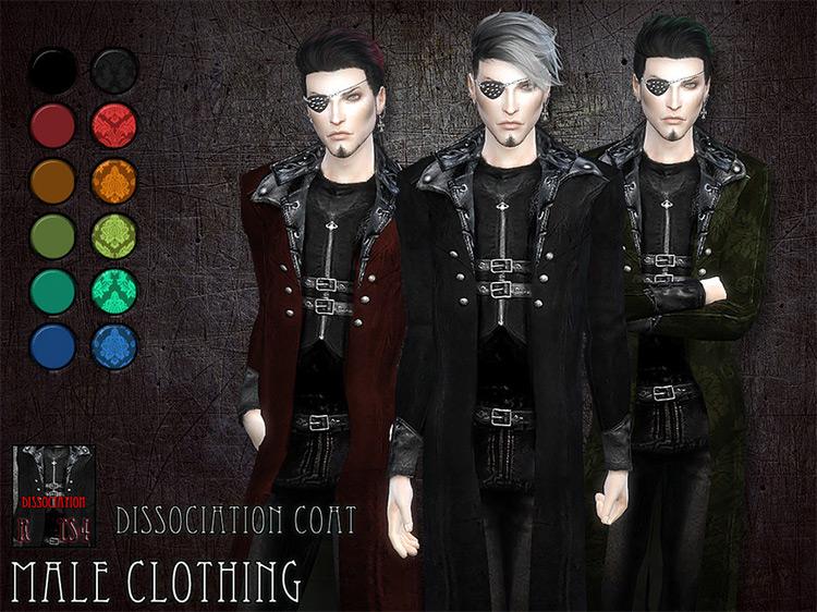 Dissociation Coat Sims 4 CC