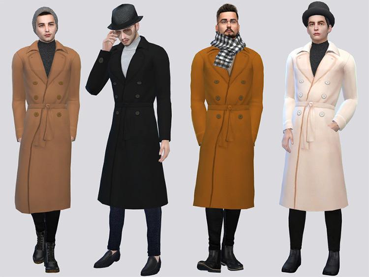 Heinrich Winter Coat Sims 4 CC screenshot