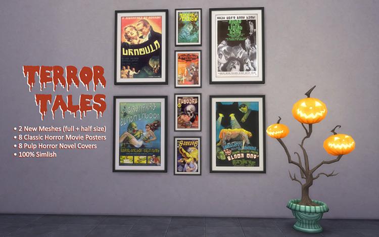 Terror Tales Sims 4 CC screenshot