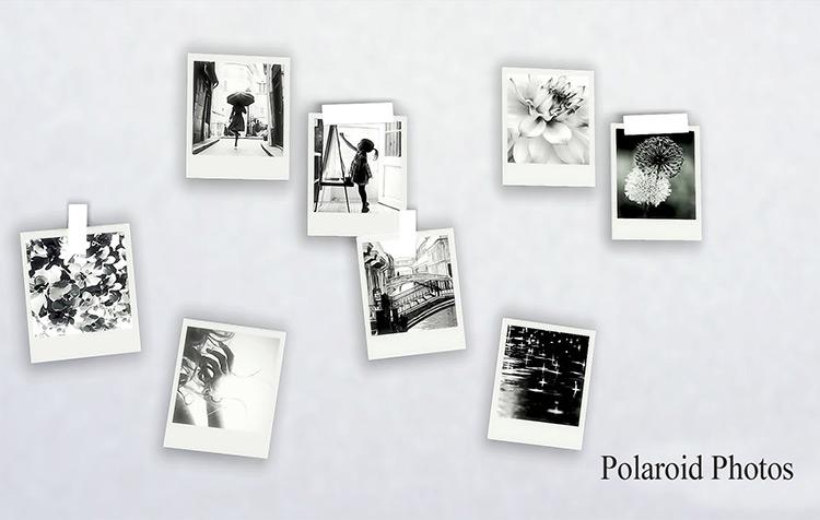 Polaroid Photos Sims 4 CC