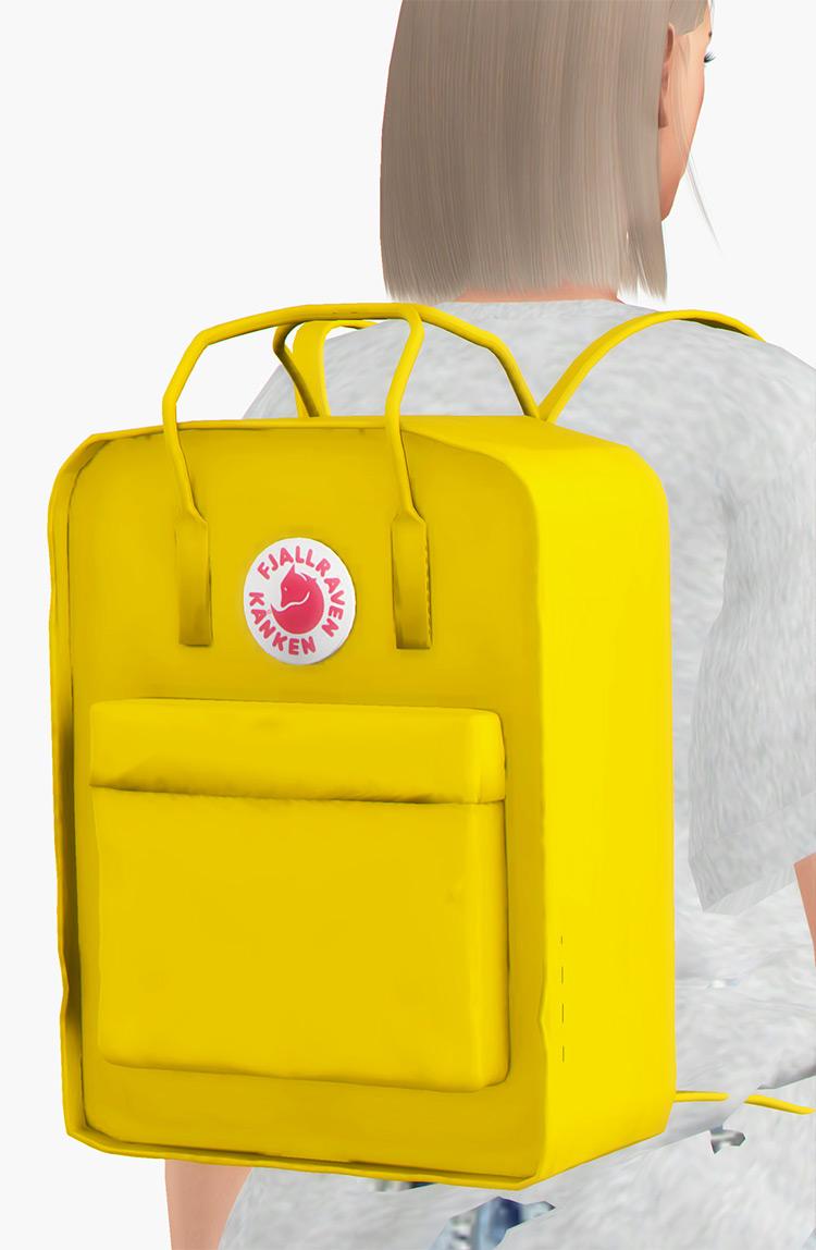Fjallraven Kanken Backpack Sims 4 CC