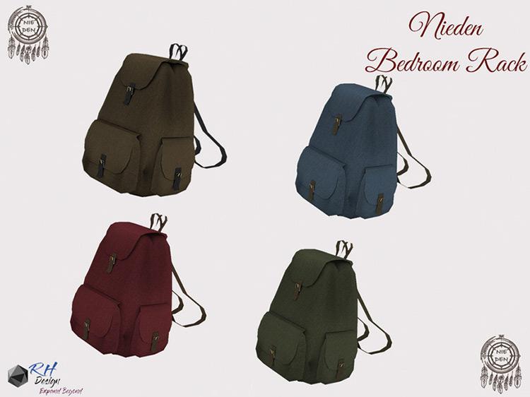 Neiden Décor Backpack Sims 4 CC