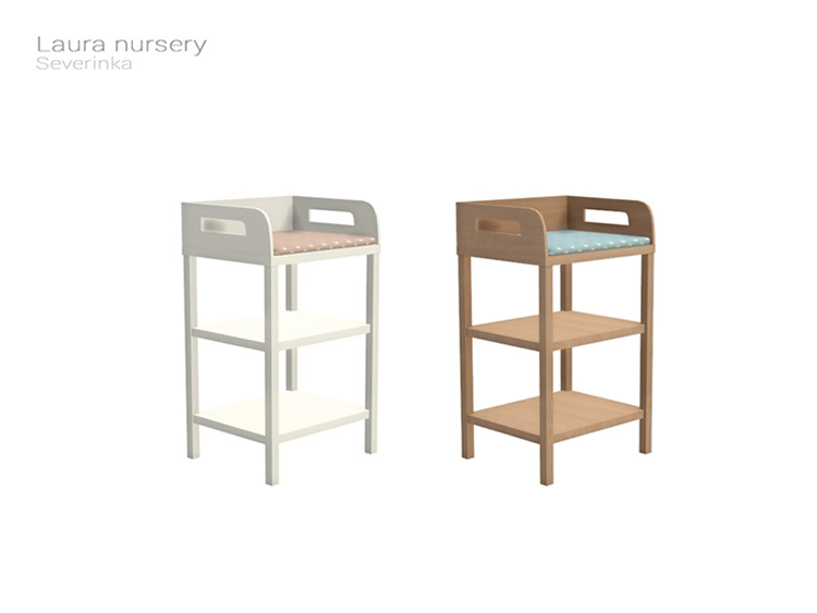 Laura Nursery Changing Table for Sims 4
