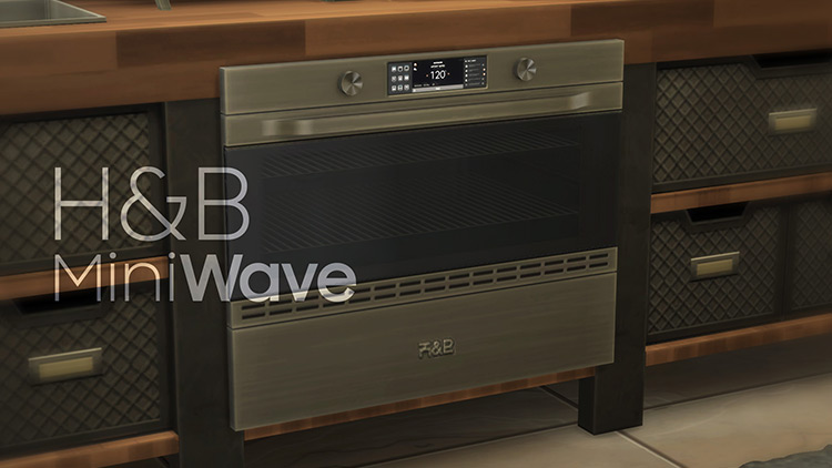 H&B MiniWave – Counter Slot Oven TS4 CC