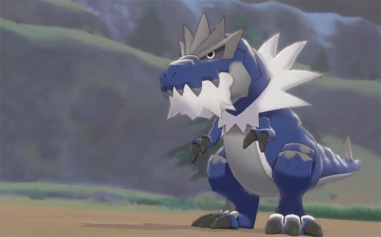 Blue-Colored Shiny Tyrantrum