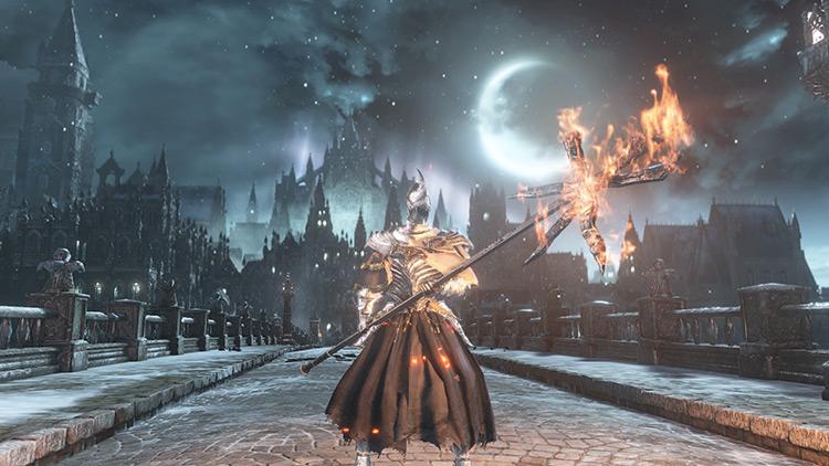Fire Witch Set Dark Souls 3 screenshot