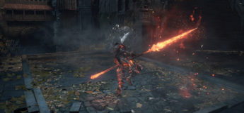 Battle screenshot in Dark Souls 3