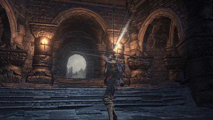 Black Bow of Pharis from Dark Souls 3