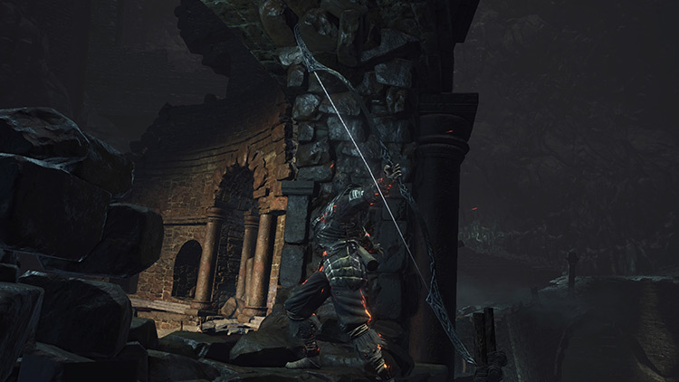 Onislayer Greatbow from Dark Souls 3
