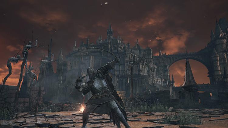 Longbow from Dark Souls 3