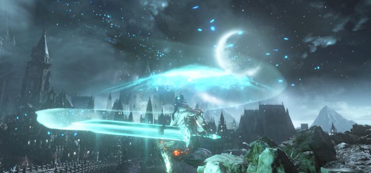 Mage battle screenshot in DS3