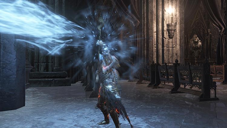 Crystal Soul Spear from Dark Souls 3