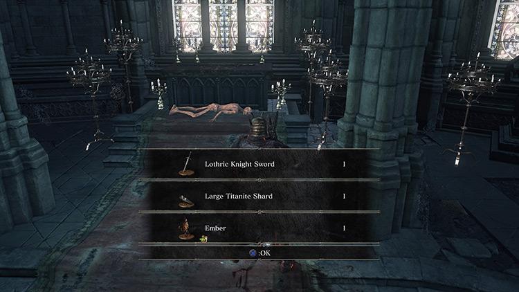 Embers from Dark Souls 3