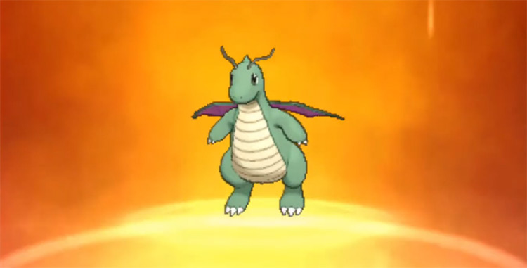 Shiny Dragonite