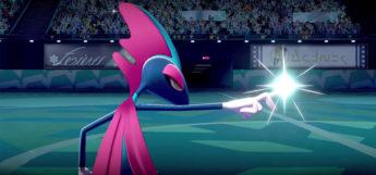 Inteleon Pink Shiny in Pokemon