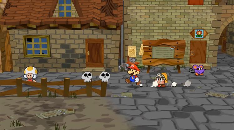 Paper Mario: The Thousand-Year Door game screenshot