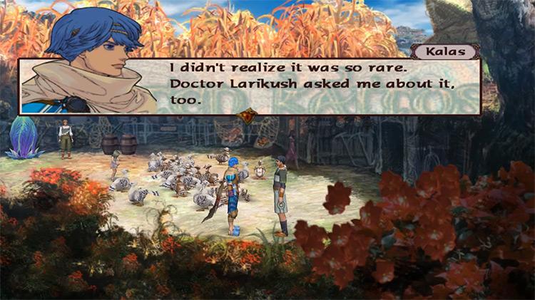 Baten Kaitos: Eternal Wings and The Lost Ocean gameplay