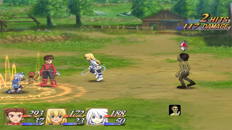 Tales of Symphonia gameplay screenshot