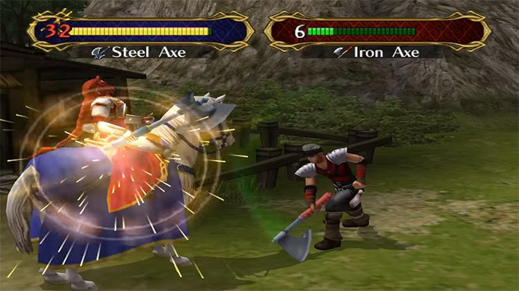 Fire Emblem: Path of Radiance game screenshot