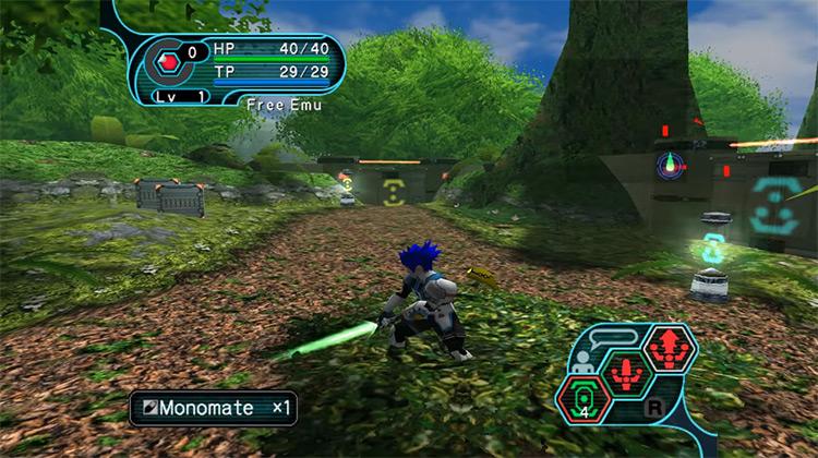 Phantasy Star Online Episodes 1 & 2 gameplay