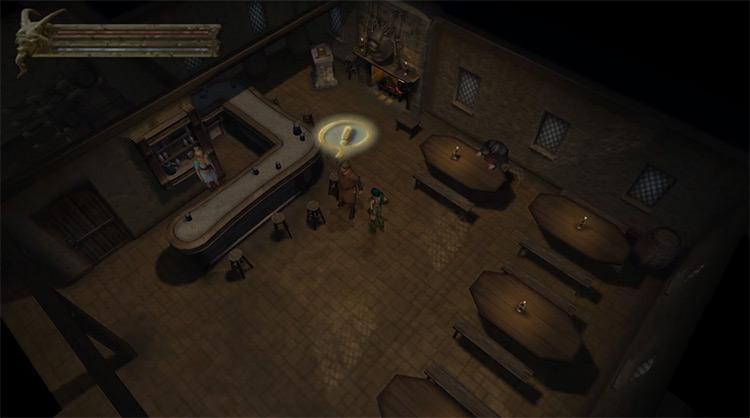 Baldur's Gate: Dark Alliance gameplay