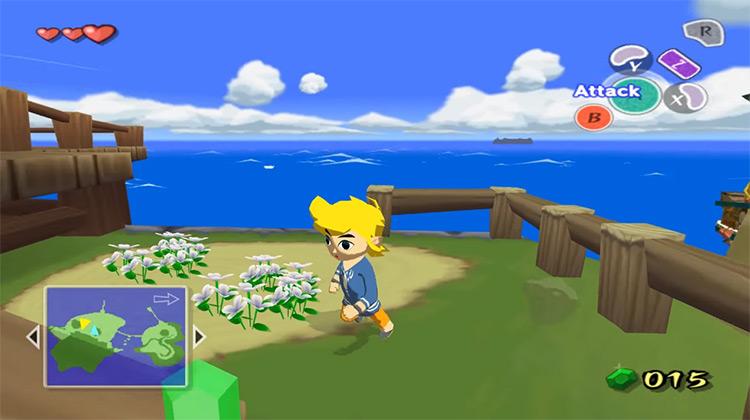 he Legend of Zelda: The Wind Waker gameplay