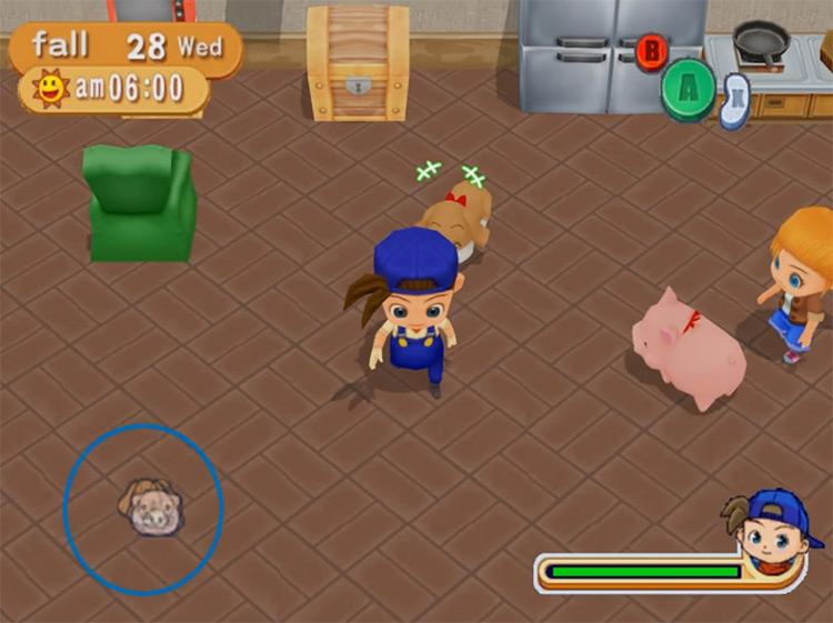 Harvest Moon: Magical Melody gameplay screenshot