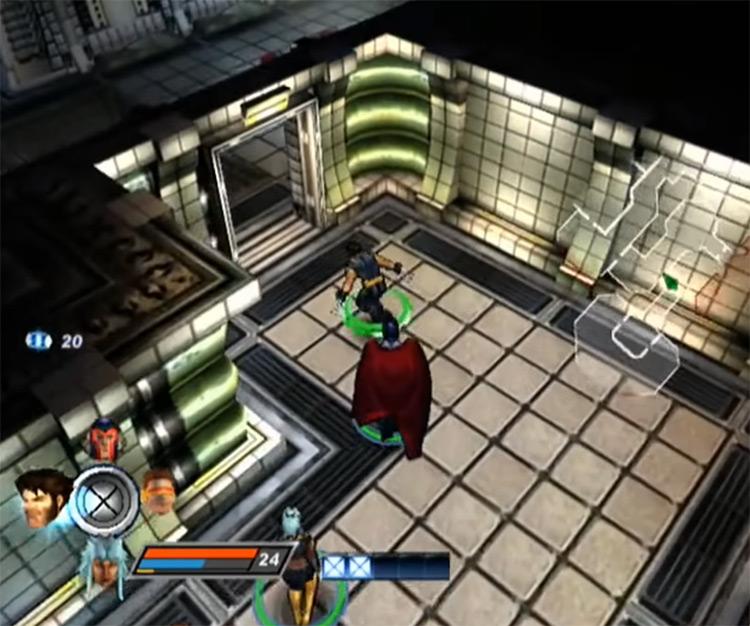X-Men Legends II: Rise of Apocalypse gameplay