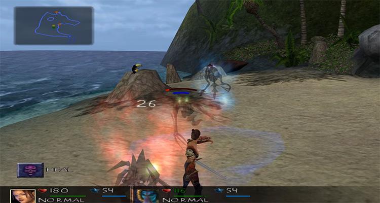 Summoner: A Goddess Reborn game screenshot