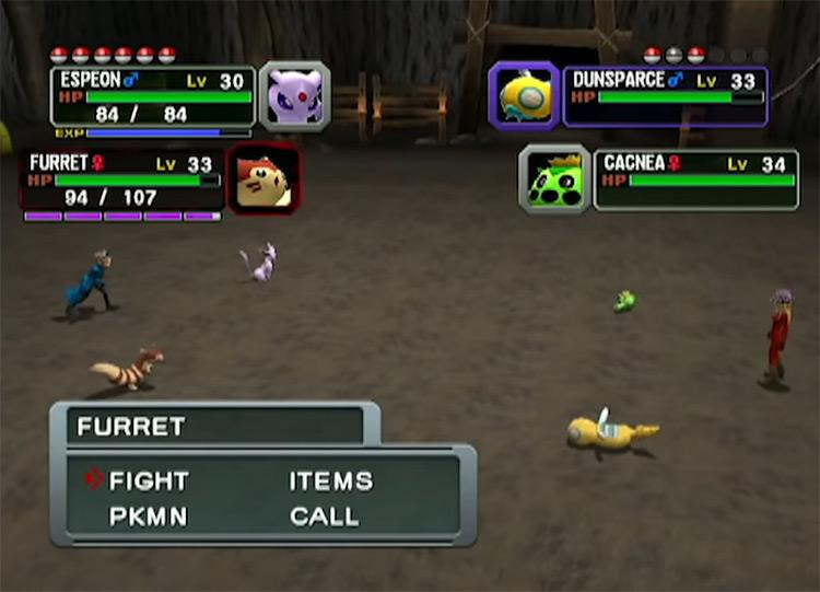 Pokémon Colosseum game screenshot
