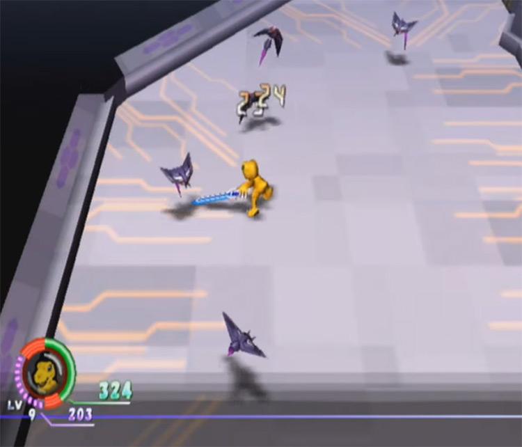 Digimon World 4 gameplay screenshot