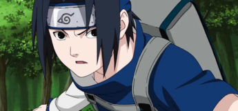 Sasuke with fake sleeves outfit - Naruto screenshot