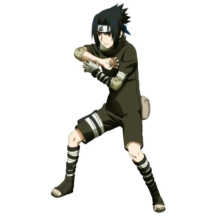 Black Suit from the Original Series Naruto anime