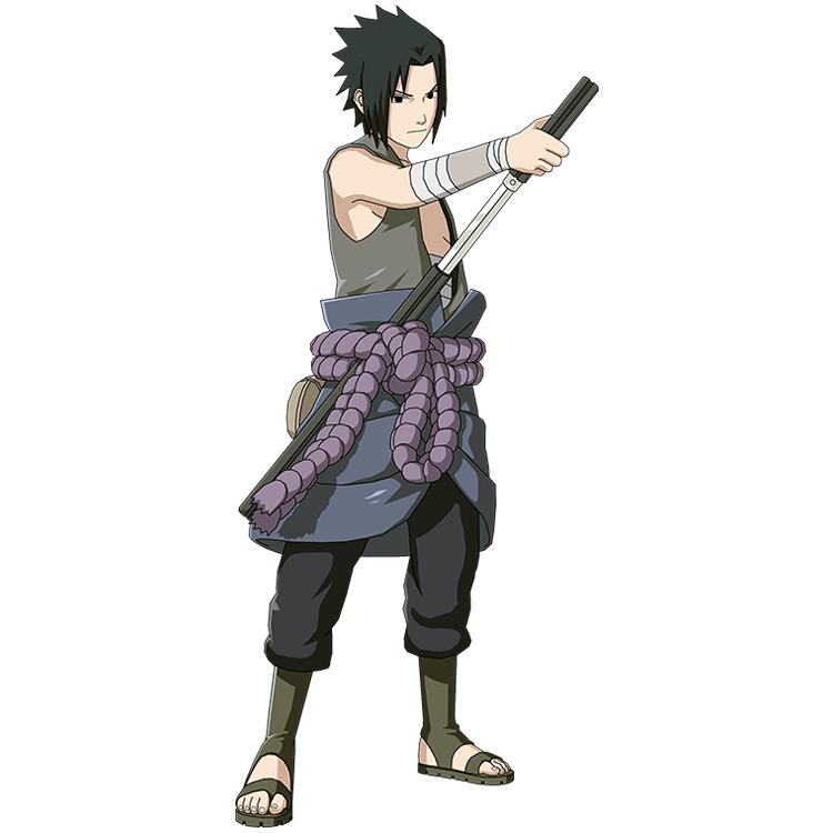 Sasuke's Second Shippuden Outfit anime screenshot