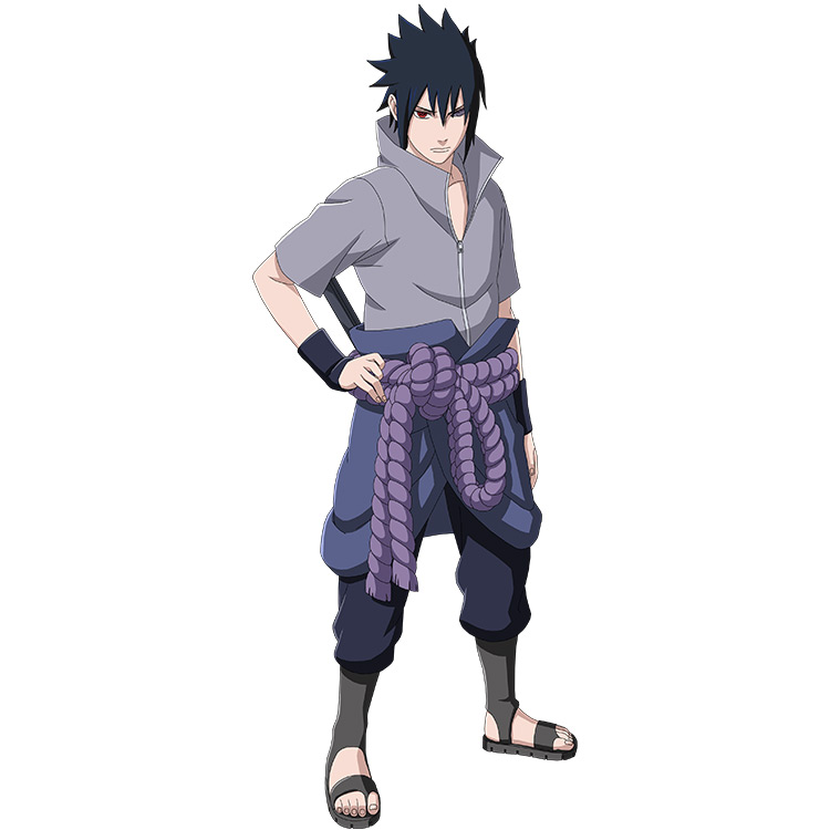 Sasuke's Last Shippuden Outfit in Naruto anime