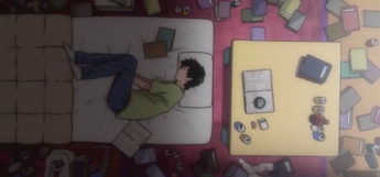 Depressed in Bed - Welcome to NHK Screenshot